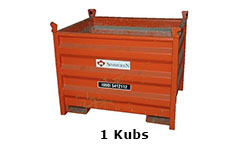 1 Kubs container