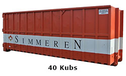 40 Kubs container